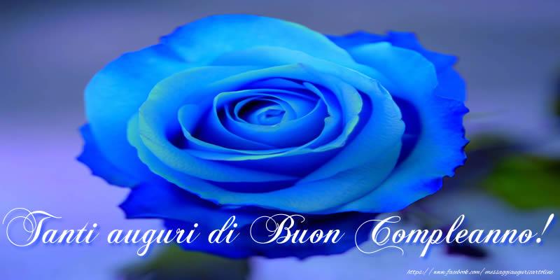 Tanti auguri di Buon Compleanno! - Cartoline compleanno con rose