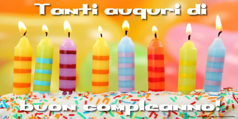 Tanti auguri di Buon Compleanno! - Cartoline compleanno divertenti