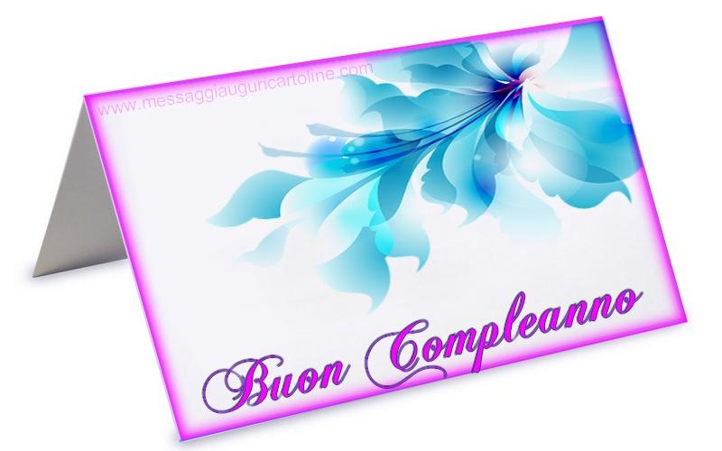 Buon compleanno - Cartoline compleanno con fiori