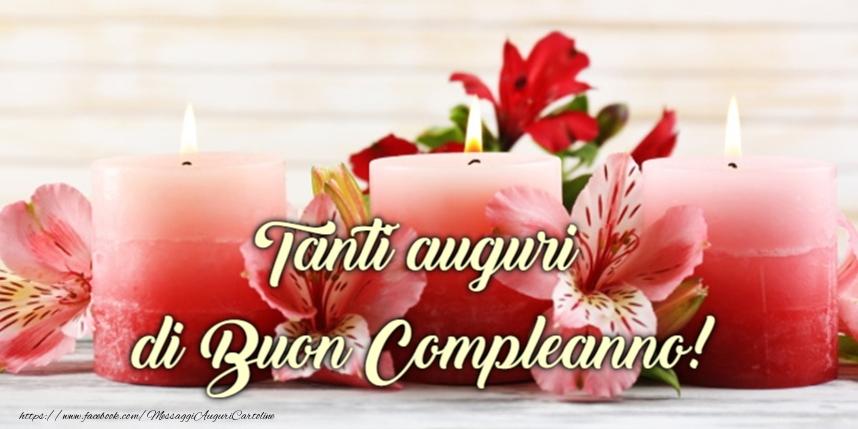 Tanti auguri di Buon Compleanno! - Cartoline compleanno