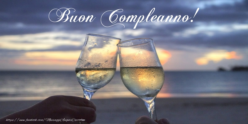 Champagne: Buon Compleanno!