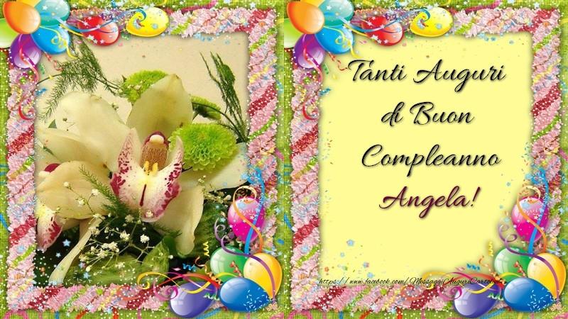 Tanti Auguri Di Buon Compleanno Angela