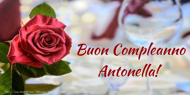 Molto Cartoline compleanno con nome Antonella - Pagina 10 GS83