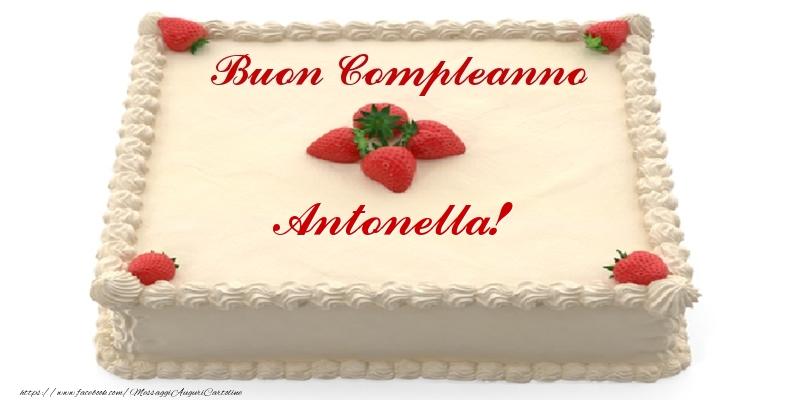 Eccezionale Torta: Torta con fragole - Buon Compleanno Antonella! LA23