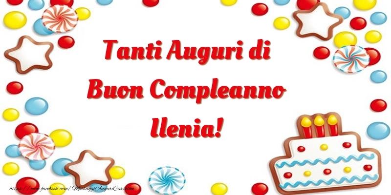 Tanti Auguri di Buon Compleanno Ilenia! - Cartoline compleanno