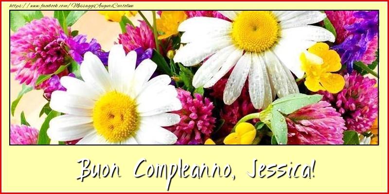 Buon Compleanno, Jessica! - Cartoline compleanno