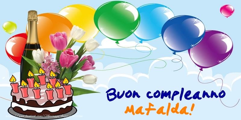 Cartoline Compleanno Con Nome Mafalda