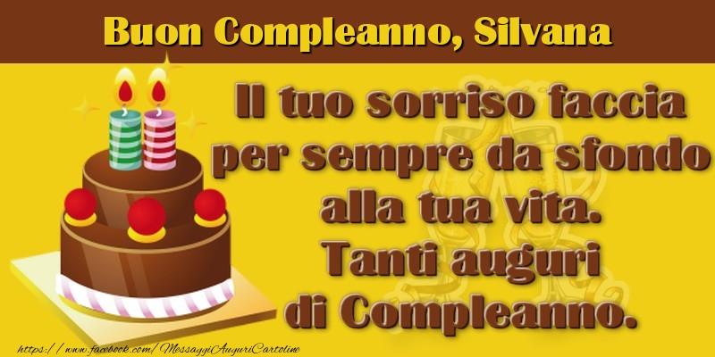 Cartoline Compleanno Con Nome Silvana