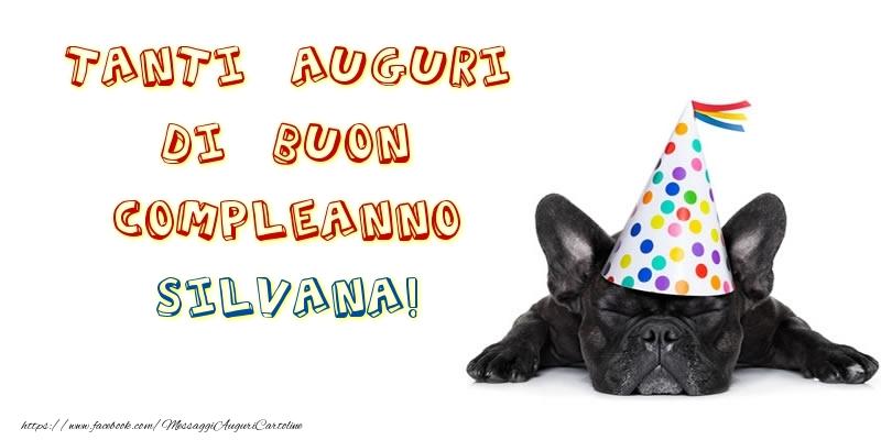 Cartoline Compleanno Con Nome Silvana Pagina 10