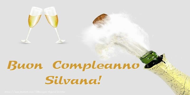 Champagne Buon Compleanno Silvana
